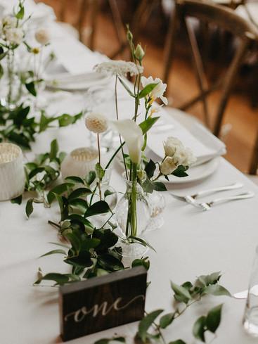 Wedding Table Greenery