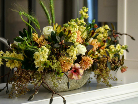 Floral Friday: Eye Catching Centerpieces