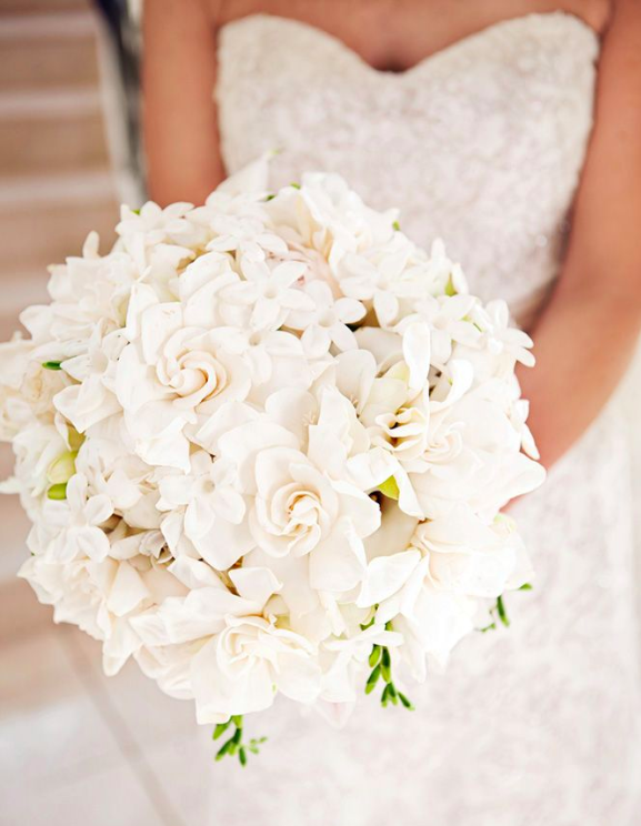 Tight Pave Bridal Bouquet