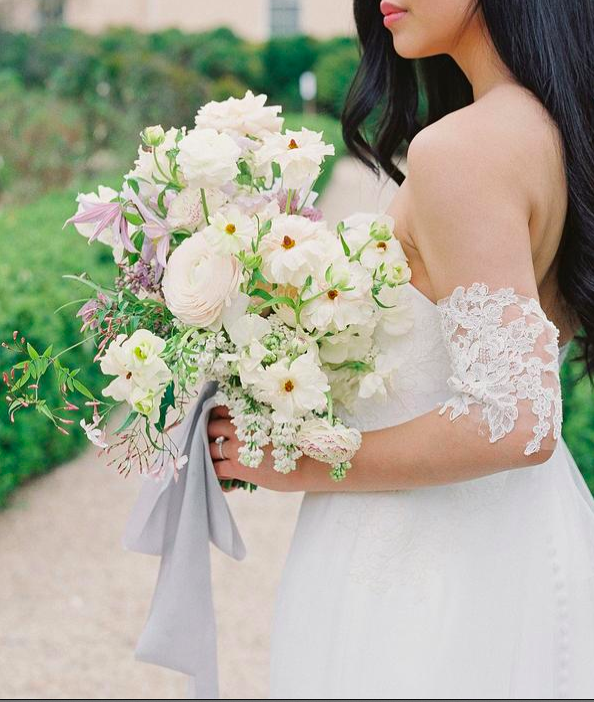 Flower Packed Bridal Bouquet