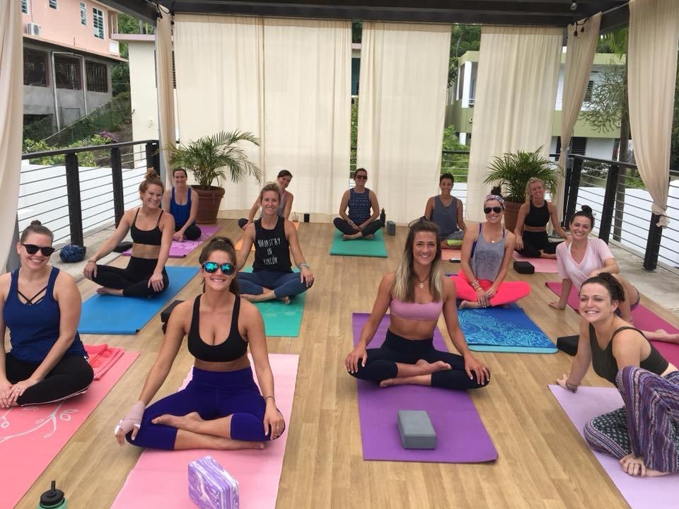 Bachelorette Yoga