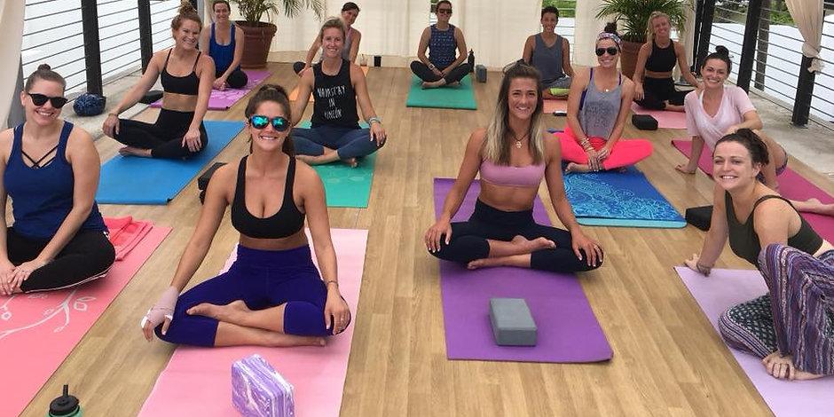 Bachelorette Yoga maui