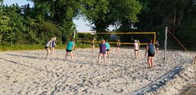 Beachvolleybal in Wijthmen