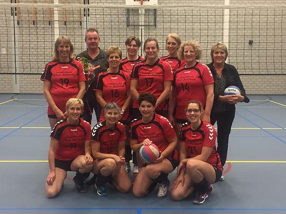 Volleybal Wijthmen Dames 3