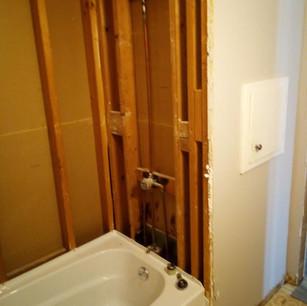 New Bathtub in Bathroom Remodel