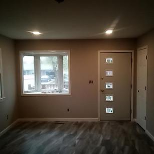 New closet door and casing