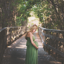 Olive gown