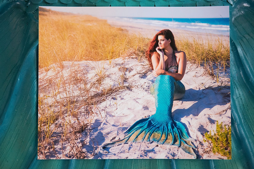 8X10 Matte Mermaid Print