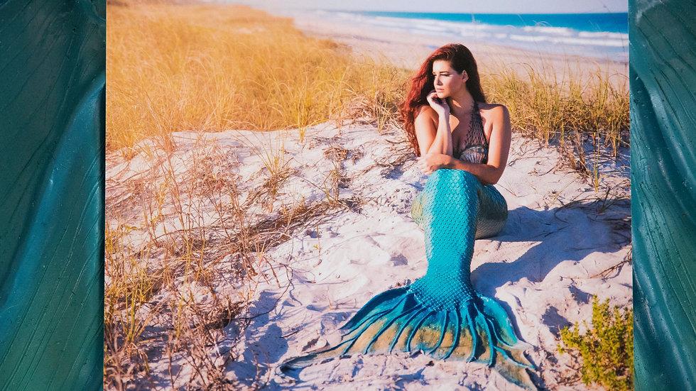 8X10 Matte Mermaid Print