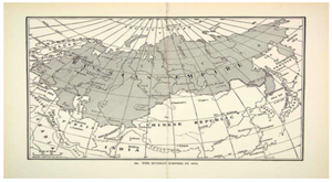 Map of Russian Empire As it Was  In  1914