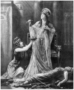 Lillie Langtry, as Cleopatra in Shakespeare's Antony and Cleopatra
