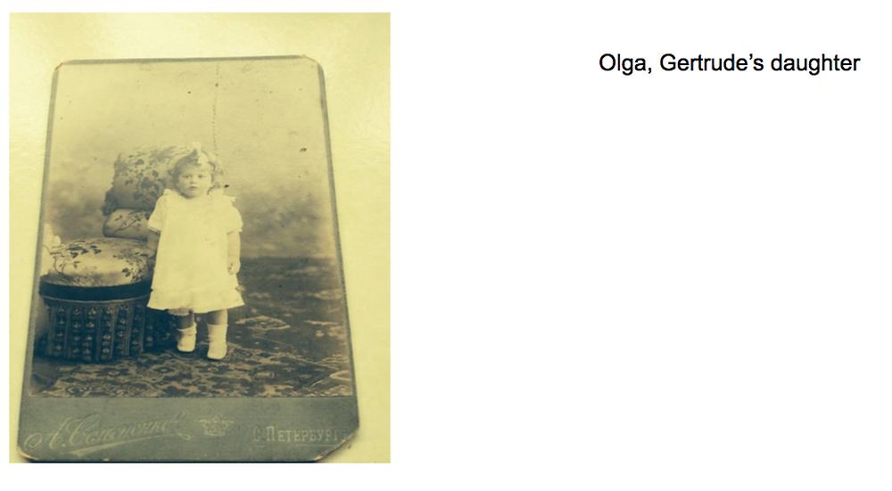 Olga, Gertrude's daughter