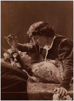 Romeo & Juliet by Shakespeare, 19th century theatrical production.
