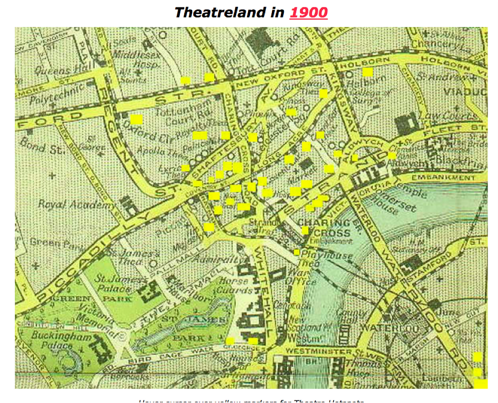 Theaters In  London In 1900