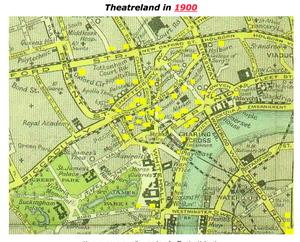 Theaters In  London In 1900