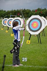Junior archer at the Droitwich Albion