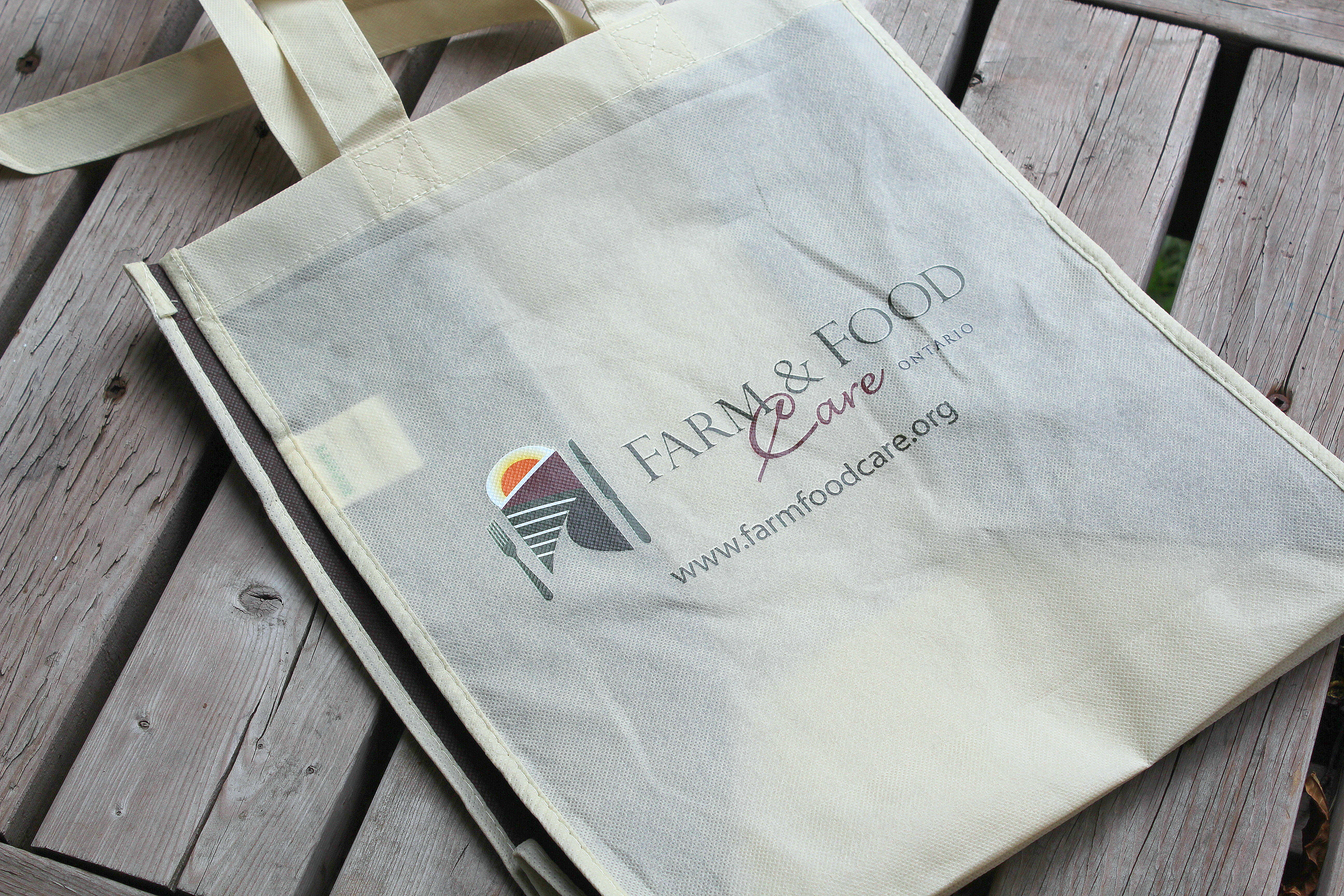 CUSTOM TOTE FOR FARM AND FOOD CARE