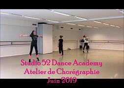 Atelier de chorégraphies en danses modernes (contemporain, modern jazz)