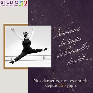 Nos danseurs non essentiels: 125 jours sans danse pour les + 13 ans