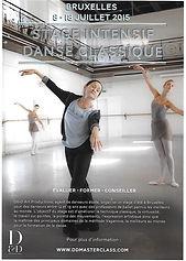 Stage intensif danse classique