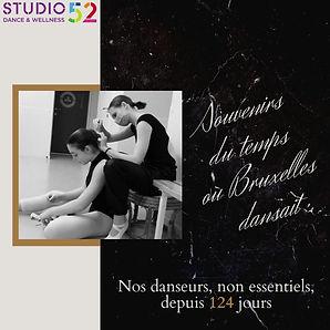 Détresse psychologique des jeunes: 124 jours sans danse pour les + 13 ans