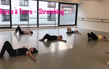 Barre à terre - Stretching