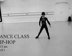 """Extraits de cours de Hip-Hop (10-15 ans) niveau """"bases"""""""