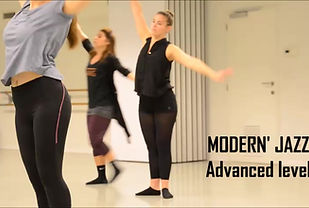 Modern Jazz Advanced Level for Adults