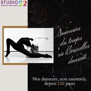 Pas de culture pas de futur: 126 jours sans danse pour les + 13 ans