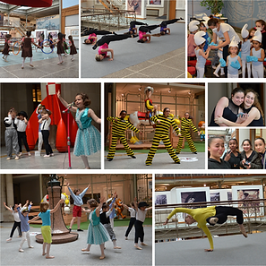 La danse investie le Musée de la Bande dessinée à Bruxelles