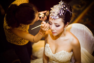 婚纱照化妝造型註意事項