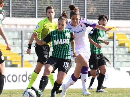 Serie A Femminile, Sassuolo Calcio Femminile - Fiorentina Femminile 1-0