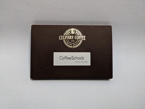 CoffeeSchock - edelherbe Schokolade mit 70% Kakao aus Santo Domingo