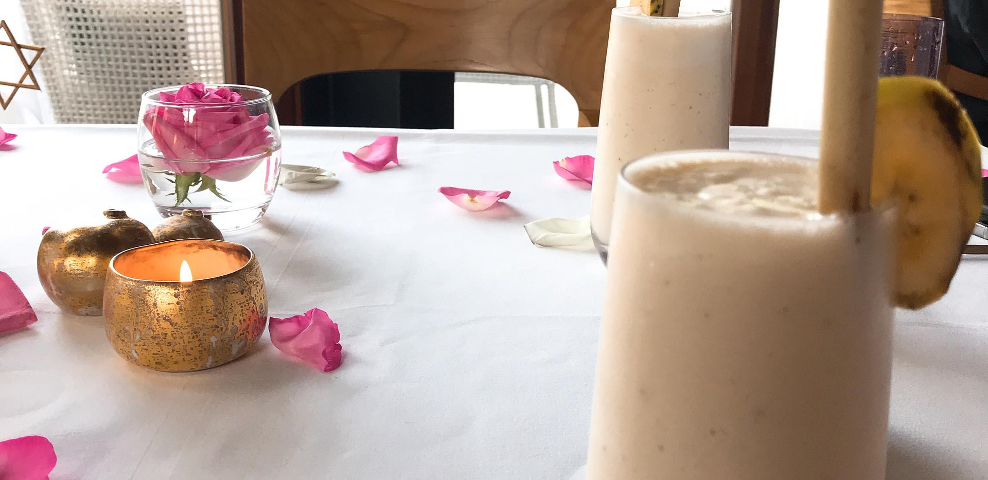 banana & cococut smoothie