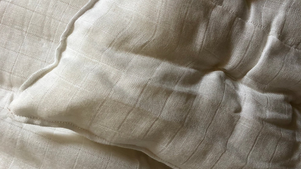 Wool Duvet with Organic cover.