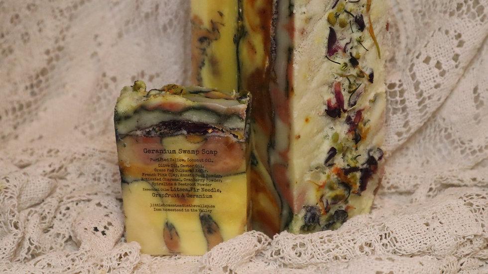 Geranium Swamp Soap