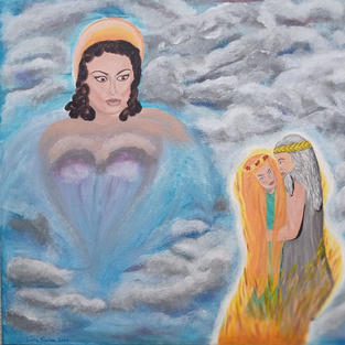 """Obraz """"Hera, Zeus i Demeter"""""""