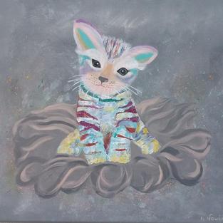 """Obraz """"Baśniowy kotek"""""""