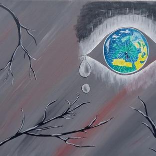 """Obraz """"Odbicie w księżycu"""""""