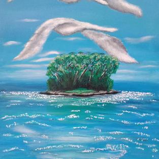 """Obraz """"Trzepot chmur"""""""