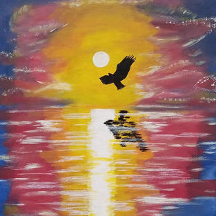 "Obraz ""Lot orła"""