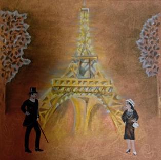 """Obraz """"Paryskie klimaty"""""""