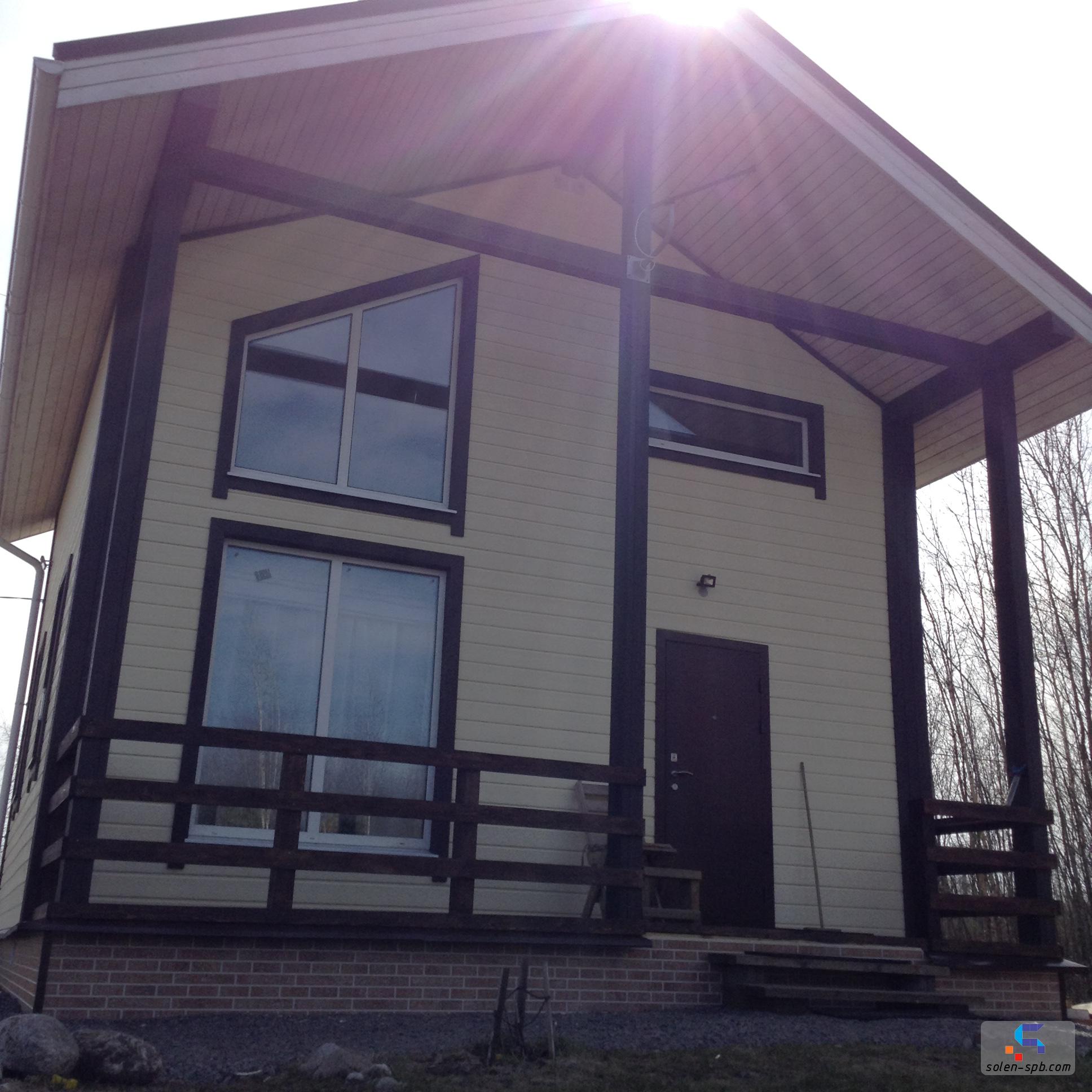 Строительство коттеджей и домов solen-spb.com 8