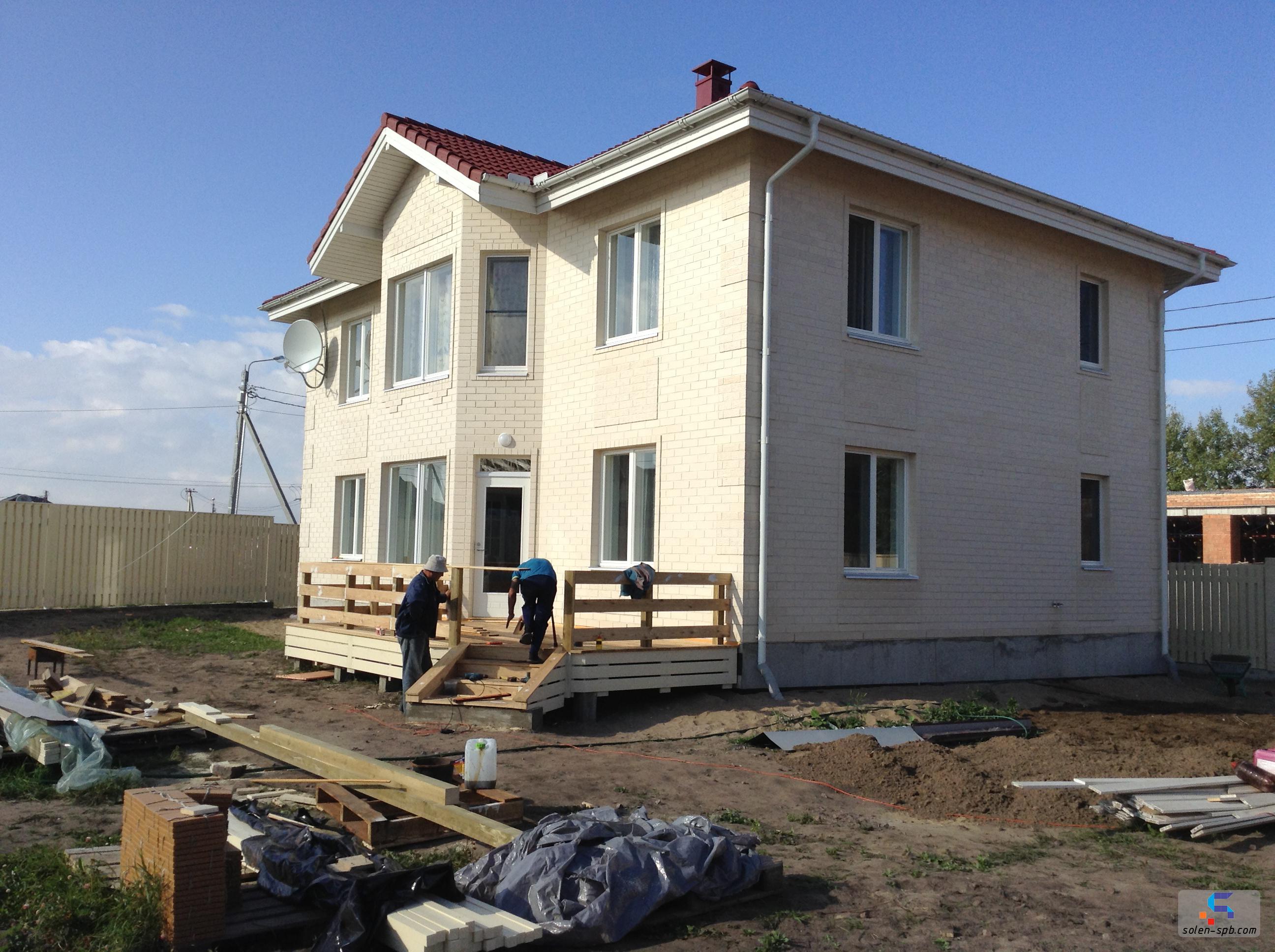 Строительство коттеджей и домов solen-spb.com 3