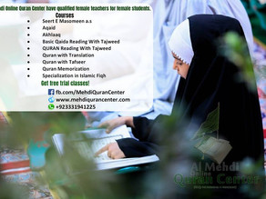 The most affordable & convenient online Quran Center