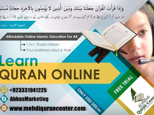 Qualified female Quran & Islamic education teachers for mominaats
