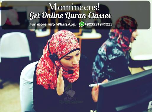 Momineens Get Online Quran Classes