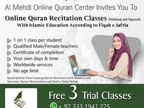 Spend Quality Time Learning Qur'an Recitation (with Makharij and Tajweed), Ahkaam (Fiqah E Jafria)