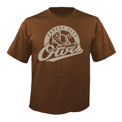 Brown FC Owls Logo Shirt