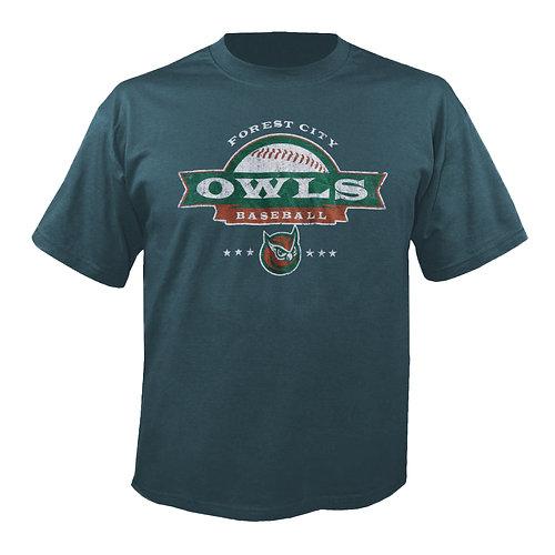 Forest City Owls Baseball Shirt